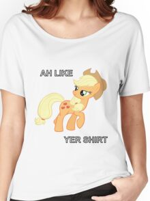 Applejack Likes Your Shirt Women's Relaxed Fit T-Shirt