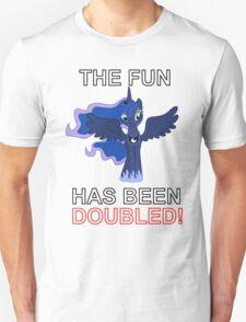 Luna Nightmare Moon - The Fun Has Been Doubled T-Shirt
