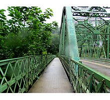 Sutton, WV: Crossing Over Photographic Print