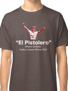 Alberto Contador Vuelta Winner 2012 Classic T-Shirt