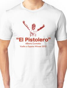Alberto Contador Vuelta Winner 2012 (II) Unisex T-Shirt
