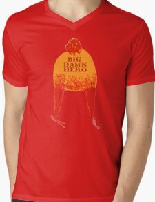 Big Damn Hero Mens V-Neck T-Shirt