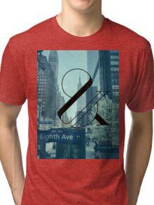 New York Is Killing Me - Blue Tri-blend T-Shirt