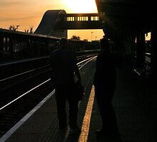 Sunset at Bristol Parkway. by Sneeze82