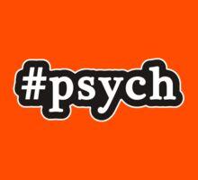 Psych - Hashtag - Black & White Kids Clothes