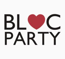 Bloc Party Heart by Ollie Vanes