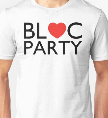 Bloc Party Heart Unisex T-Shirt