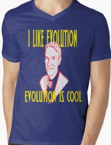 I like Evolution, Evolution is cool Mens V-Neck T-Shirt
