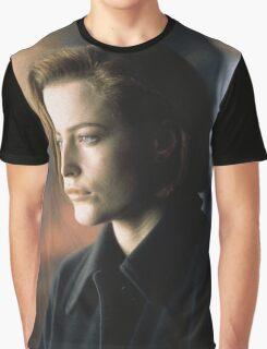 DANA SCULLY ALIEN AMAZING Graphic T-Shirt