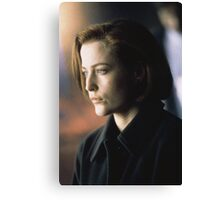 DANA SCULLY ALIEN AMAZING Canvas Print