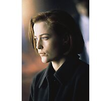 DANA SCULLY ALIEN AMAZING Photographic Print