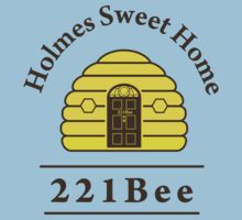221Bee: Holmes Sweet Home Kids Tee