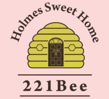221Bee: Holmes Sweet Home One Piece - Long Sleeve