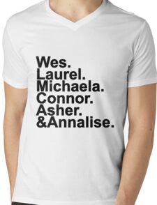 Murder Team Mens V-Neck T-Shirt