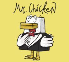 Mr. Chicken - Basic One Piece - Short Sleeve