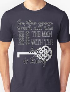 Sherlock - The room with all the locked doors Unisex T-Shirt