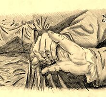 Hands in sepia by edwardiangirl