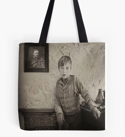 Waiting for Father to return Tote Bag