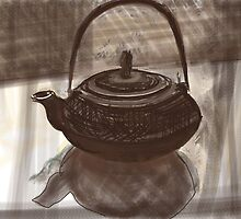 Metal Teapot by Visuddhi