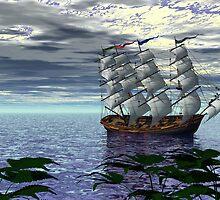 An Alternate Sarasota Sea Sail by Sazzart