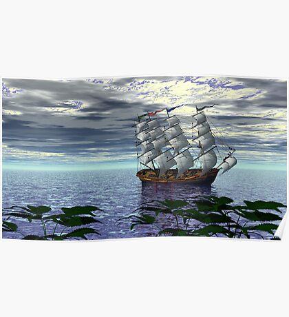 An Alternate Sarasota Sea Sail Poster