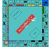 Monopoly Board Photographic Print