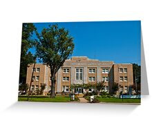 Arkansas County Court House Greeting Card