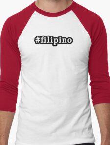 Filipino - Hashtag - Black & White T-Shirt