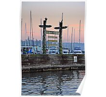 Welcome to Des Moines Washinton Marina Poster