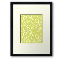 Mayo and Spice Framed Print