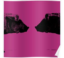 Two Pigs Poster