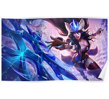 Snowstorm Sivir - League of Legends Poster