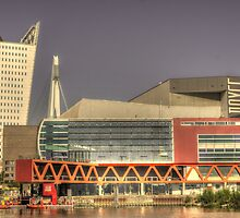 Luxor theatre in Rotterdam, Netherlands by Nicole W.