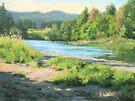 River Forks Morning by Karen Ilari