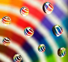 Pantone Bubbles by SRowe Art