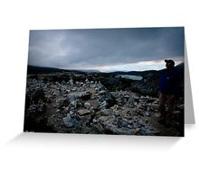 Cairn Field  Greeting Card
