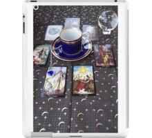 Tarot reading and tea iPad Case/Skin