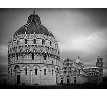 Piazza dei Miracoli, Pisa Photographic Print