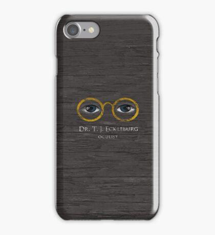 T.J. Eckleburg - The Great Gatsby iPhone Case/Skin