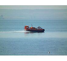 Service Boat Photographic Print
