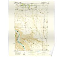 USGS Topo Map Indiana ID Lewiston Orchards South 236871 1958 24000 Poster