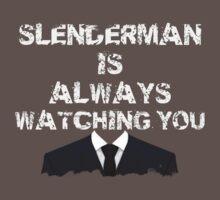 Slenderman is always watching you by TCrawlers