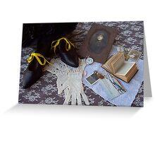 Yellow ribbon Greeting Card