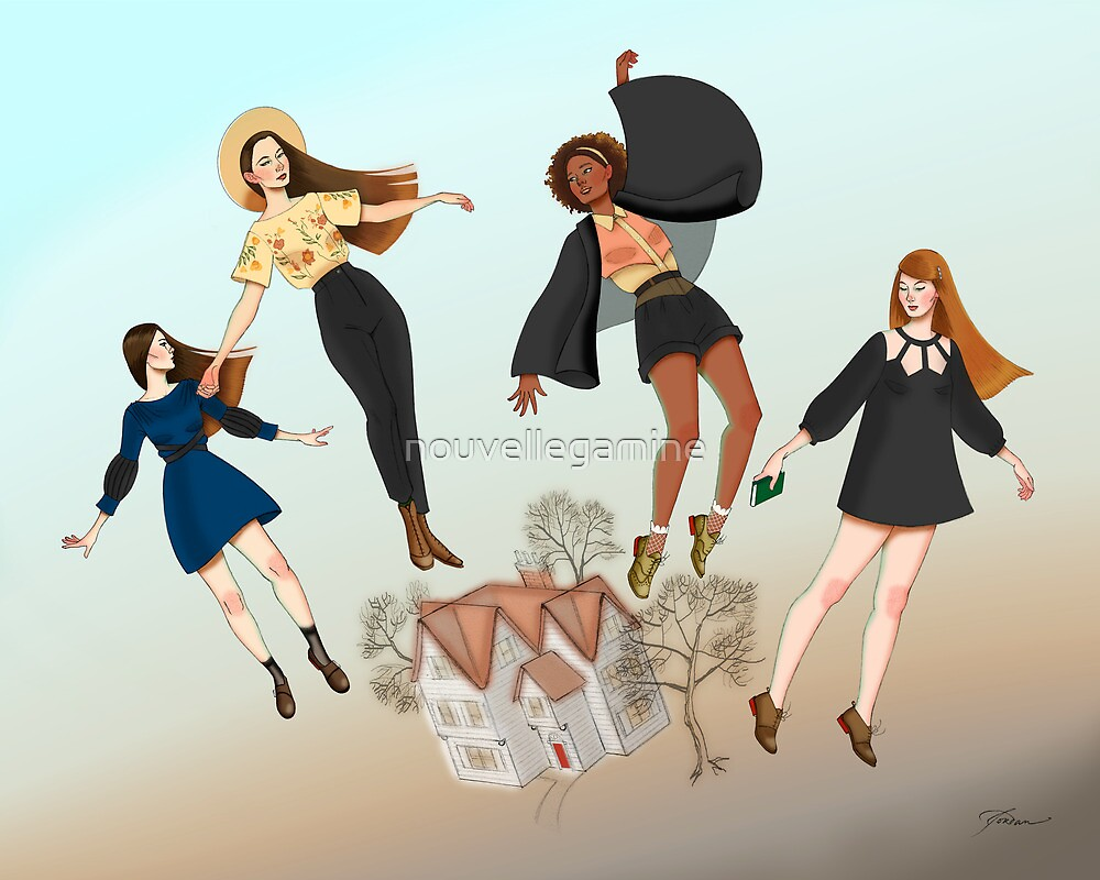 Seven  Gables by nouvellegamine