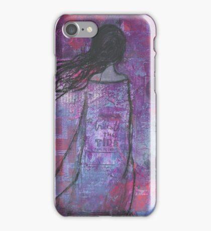 Warrioress :: Wind-Swept Divine Feminine iPhone Case/Skin