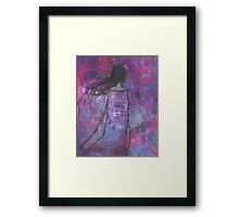 Warrioress :: Wind-Swept Divine Feminine Framed Print