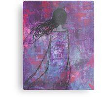 Warrioress :: Wind-Swept Divine Feminine Metal Print