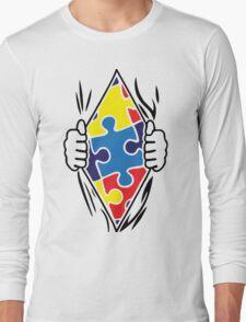 Autism Superhero Long Sleeve T-Shirt