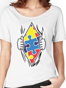 Autism Superhero Women's Relaxed Fit T-Shirt