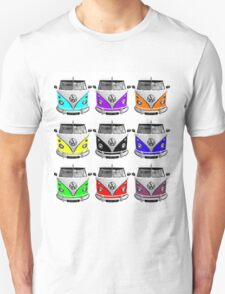 Volks Warhol on White (also available as transparent square) T-Shirt